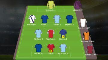 FantasyBet Premier League freeroll – Sjon's Fantasy Football team Speelweek 5