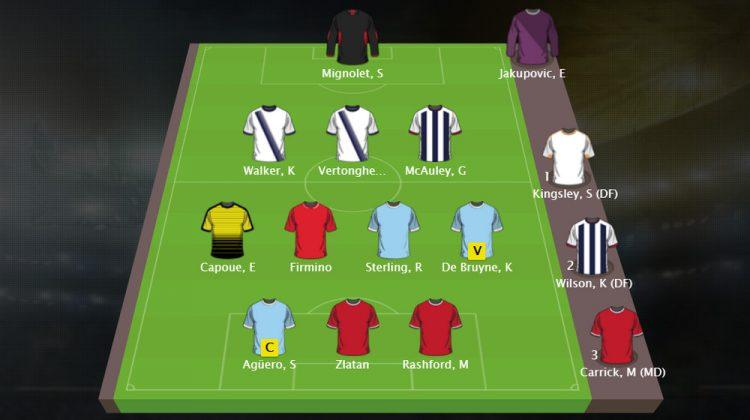 FantasyBet Premier League freeroll – Sjon's Fantasy Football team Speelweek 6