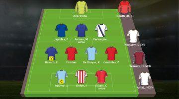 Sjons Fantasy Premier League Team Speelweek 12