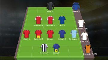 Sjons Fantasy Premier League Team Speelweek 13